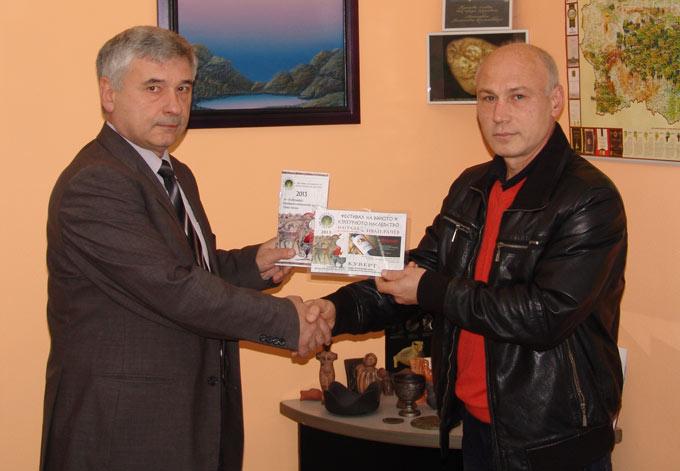Иван Рачев спечели посещение за четирима души във Винарско имение Драгомир - Августиада
